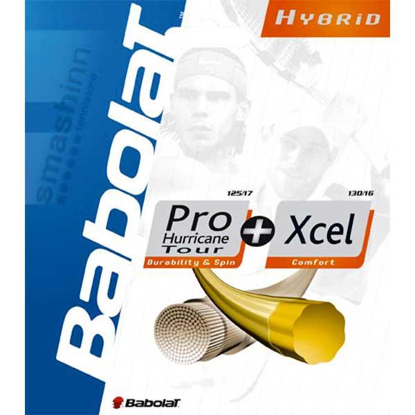 Ficelle Babolat Hybrid Pro Hurricane Tour/xcel 12 M