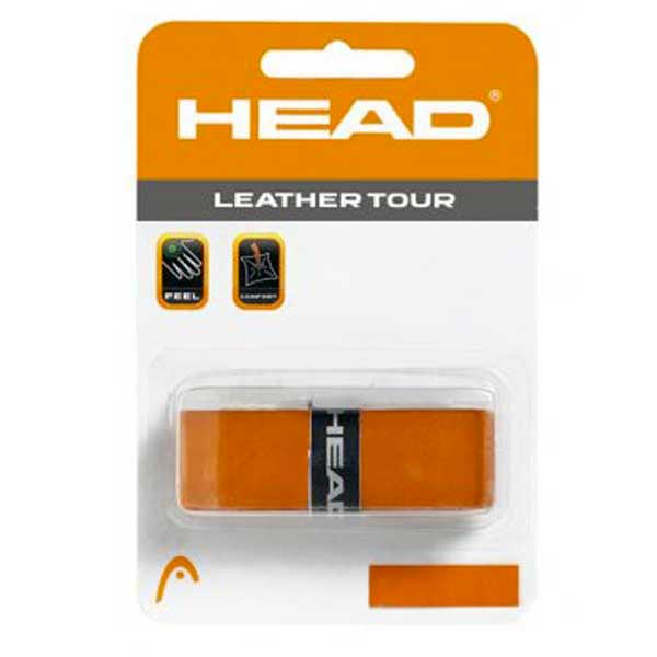 Grips Head-racket Leather Tour One Size Brown