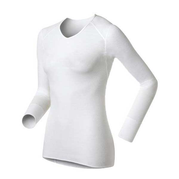 Odlo Shirt L/S V Neck Warm Lady