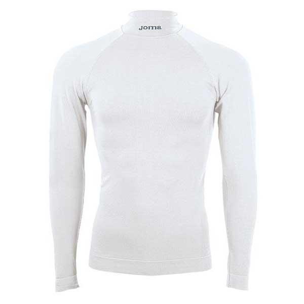 Vêtements intérieurs Joma Brama Classic L/s Turtleneck S-M White