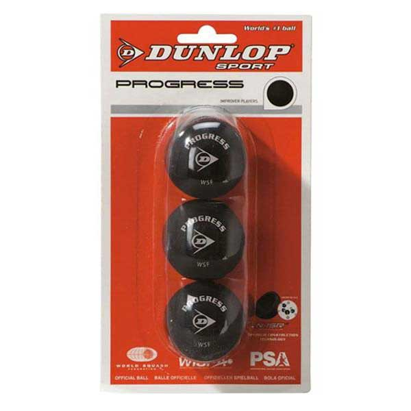 Balles squash Dunlop Progress