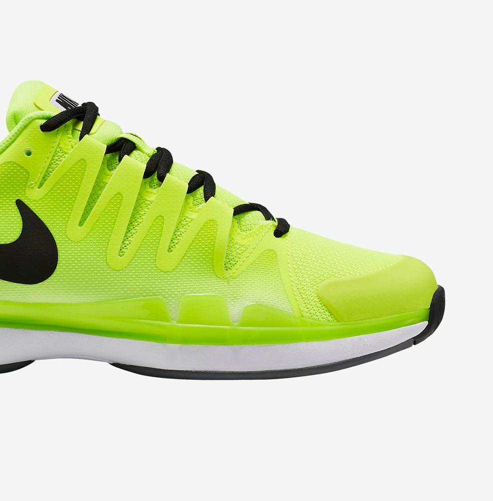 Nike Zoom Vapor  Womens Tennis Shoes White Grey Yellow