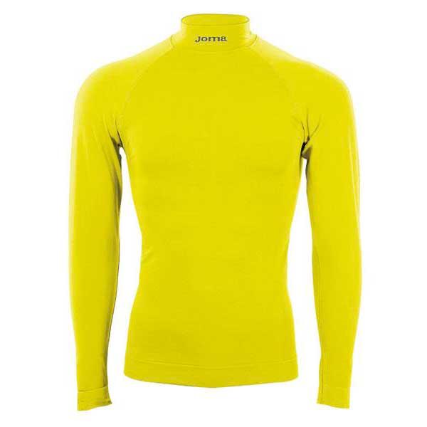 Vêtements intérieurs Joma L/s Brama Fluor S-M Yellow