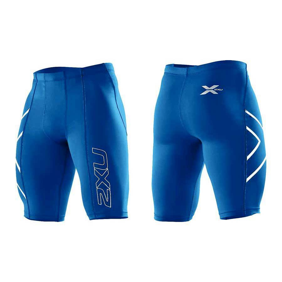 acbcd699 2xu Compression Short Royal Logo Blue buy and offers on Smashinn