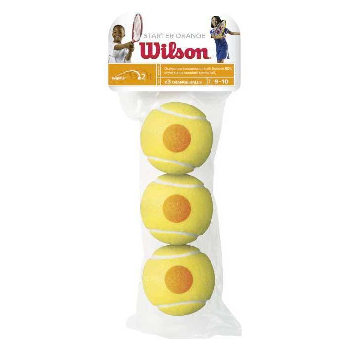 Balles tennis Wilson Starter Orange