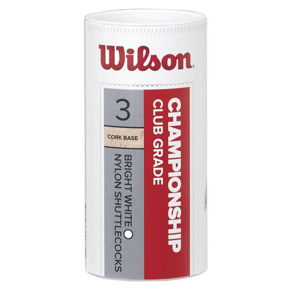 Volants Wilson Championship Club 77 3 Units White