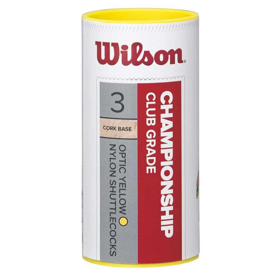 Volants Wilson Championship Club 78 3 Units Yellow