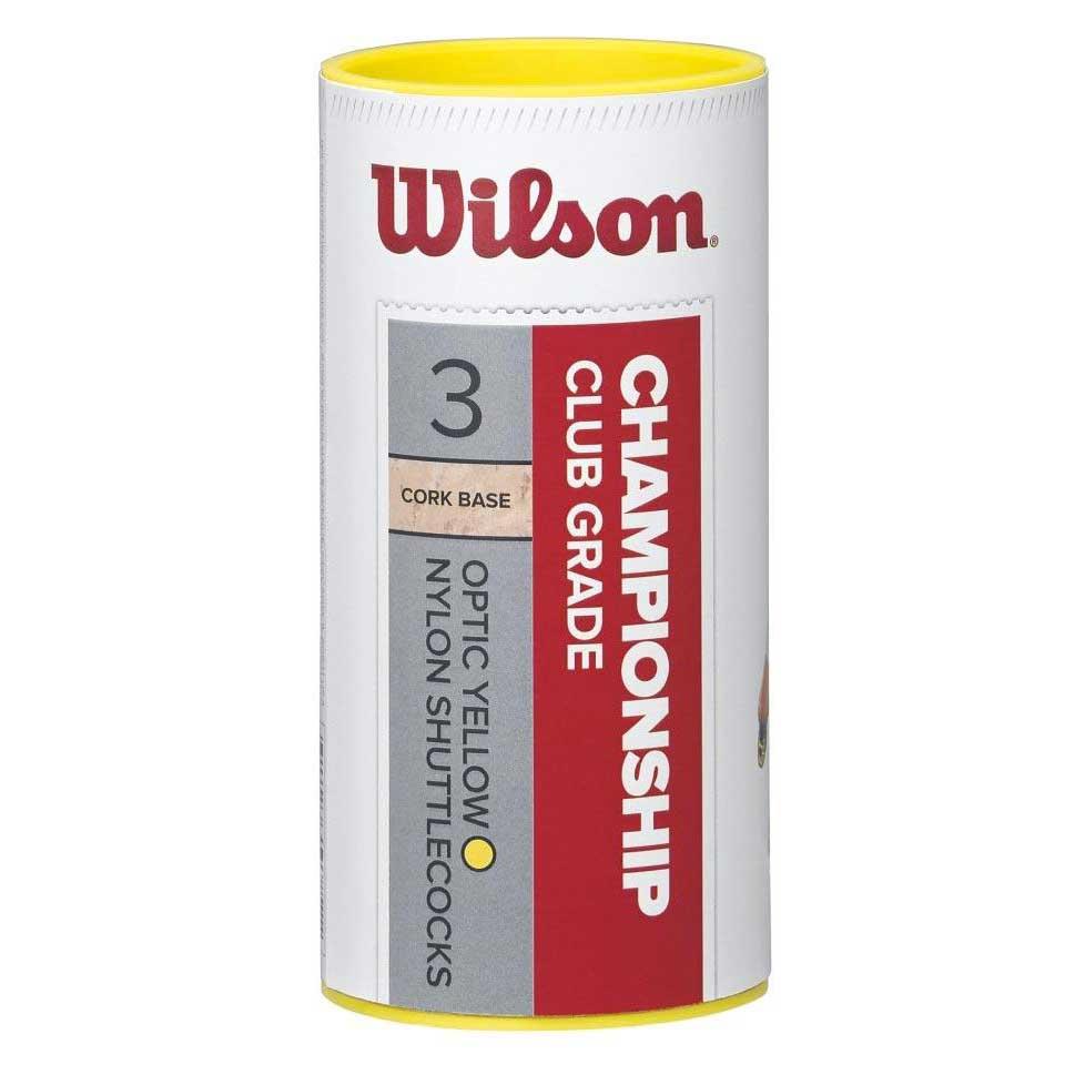 Volants Wilson Championship Club 79 3 Units Yellow