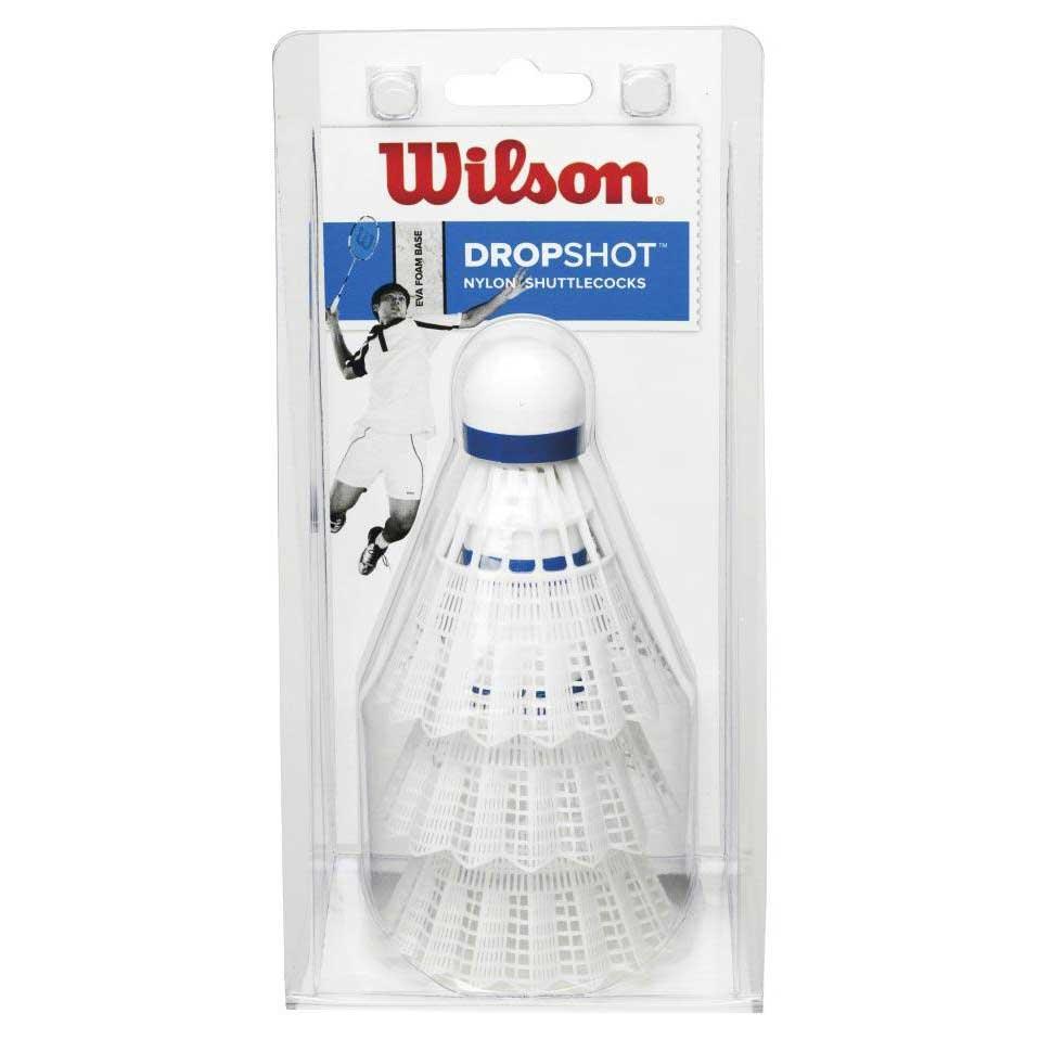 Volants Wilson Dropshot 77 3 Units White