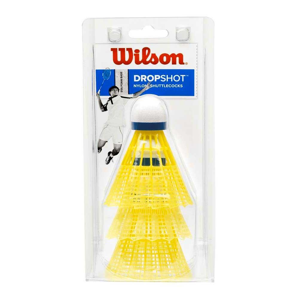 Volants Wilson Dropshot 77 3 Units Yellow