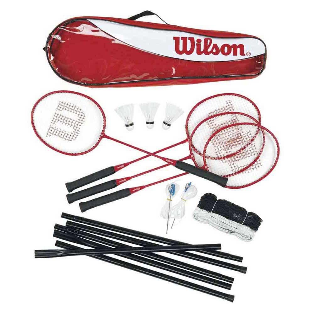 Raquettes de badminton Wilson Badminton Tour Set