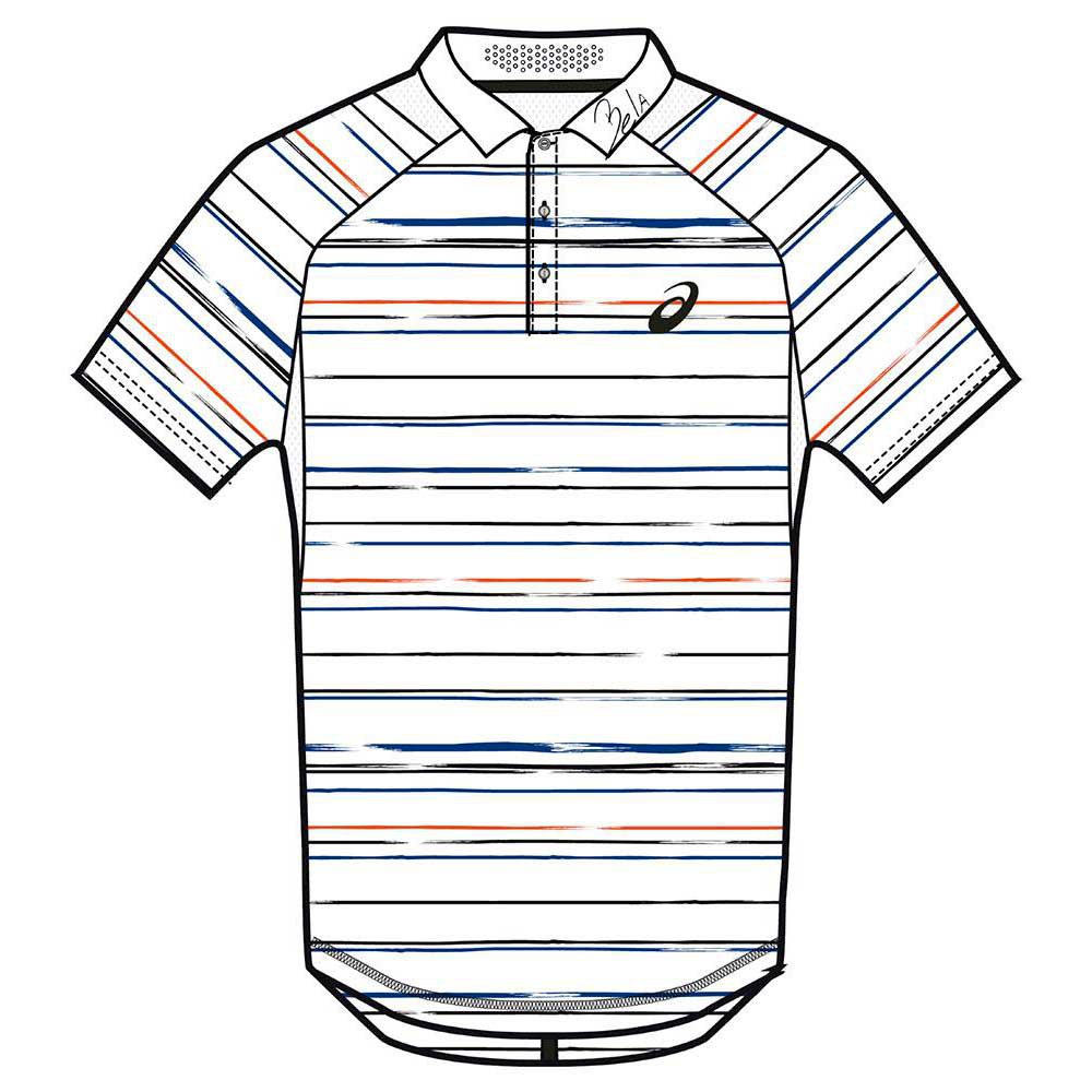 Asics Padel Graphic Polo Stripe