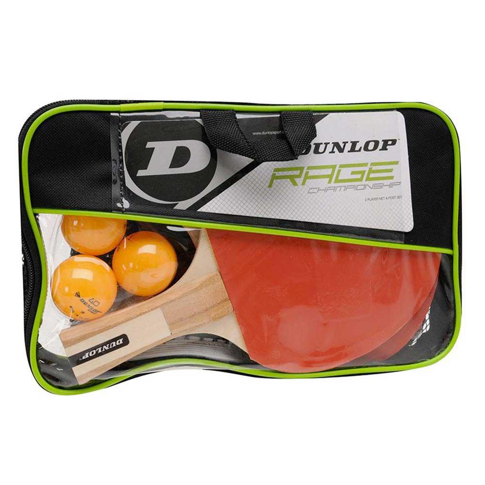 Raquettes de ping pong Dunlop Rage Championship Set