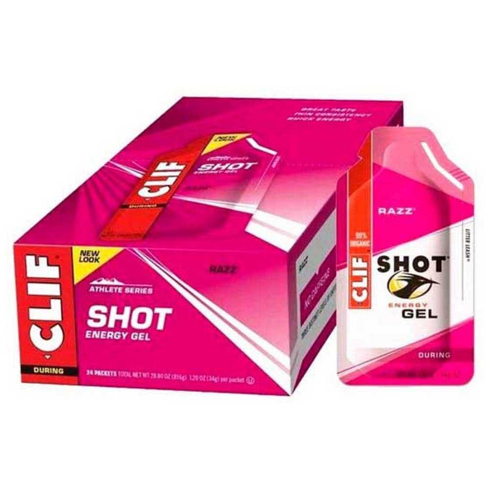 Clif Energygrel Raspberry Box 24 Units