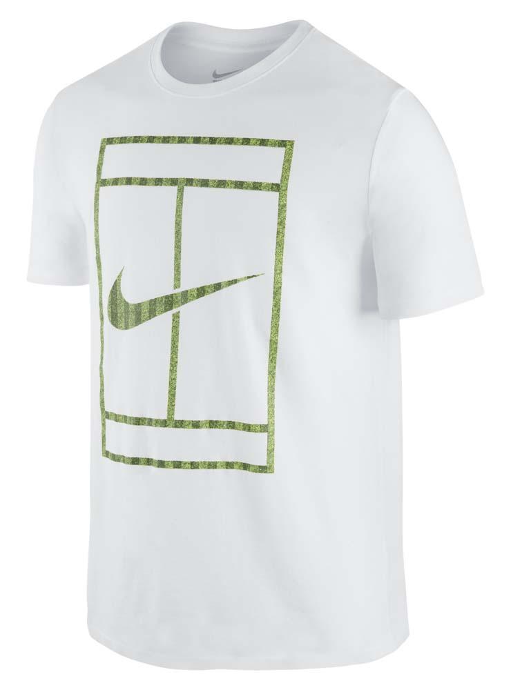 official photos 7607a 2432b Nike Wimbledon Court SS T Shirt