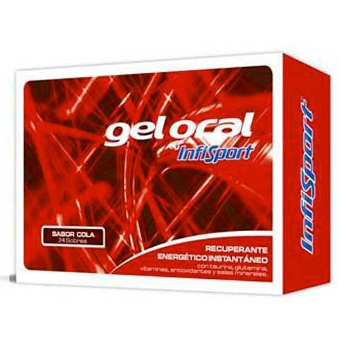 Infisport Gel Envelopes Cola 20 g x 24