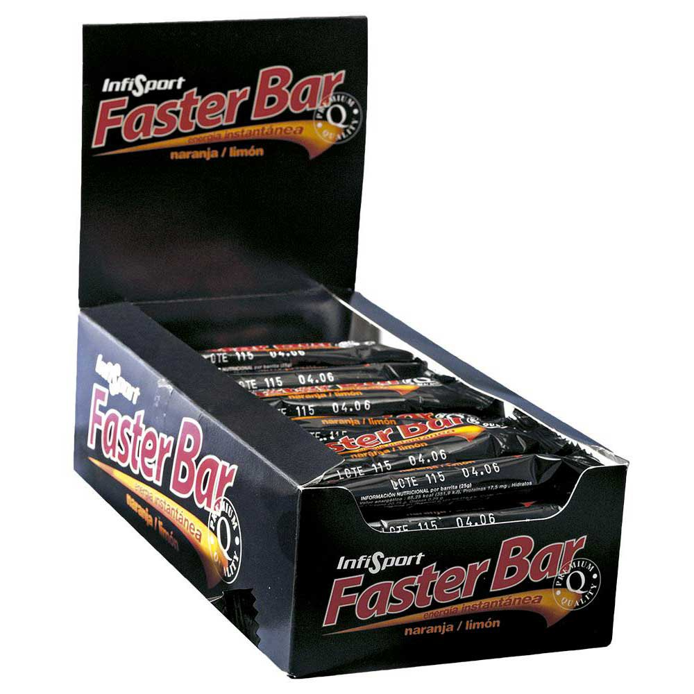 Infisport Faster Bar 25 G X 28 orange / lemon