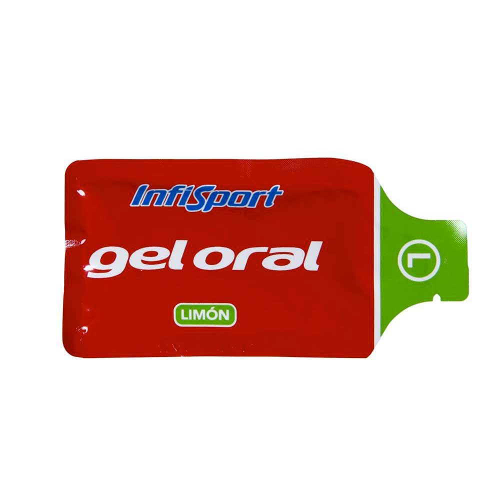 Infisport Gel Envelopes Lemon 20gr