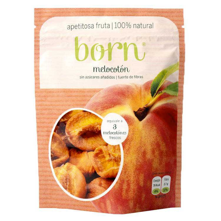 Born fruits Semi Dehydrated Peach