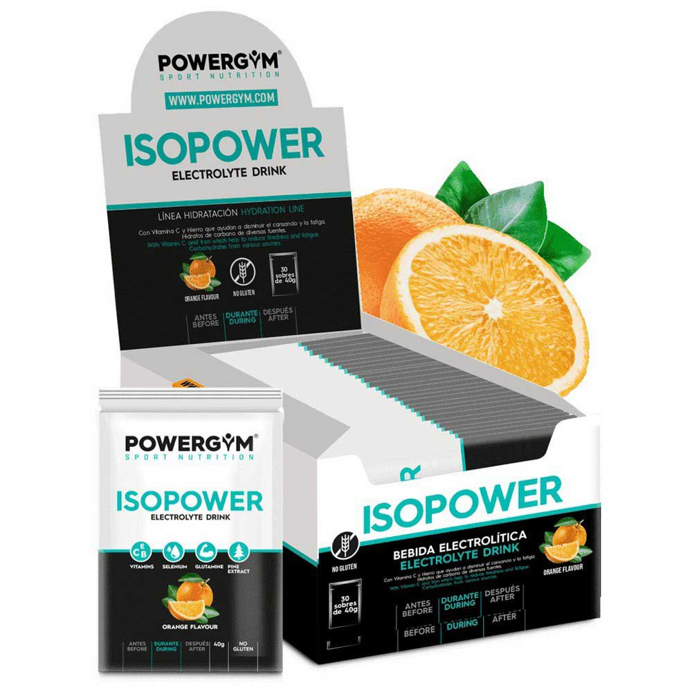 Powergym Isopower Orange 30 Units