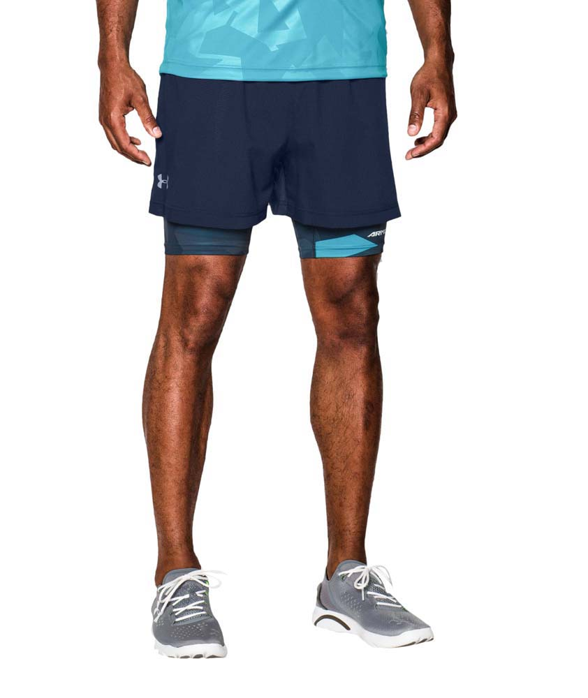 cb62f57be608b Under armour Launch 5 2 In 1 Shorts