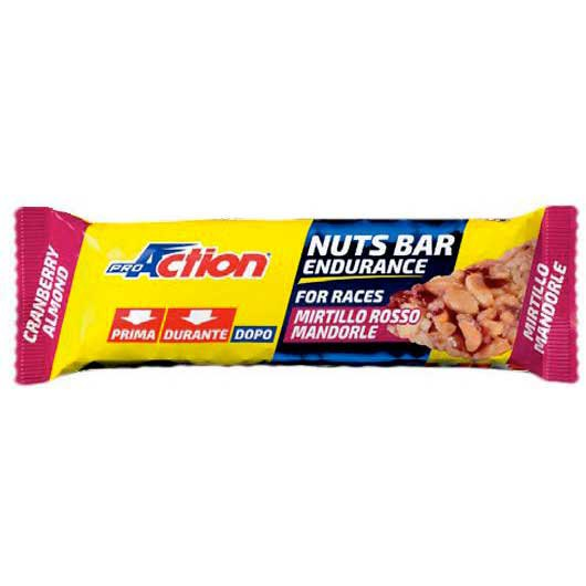 Pro action Nuts Bar Cramberry Almond 30gr x 25 Units