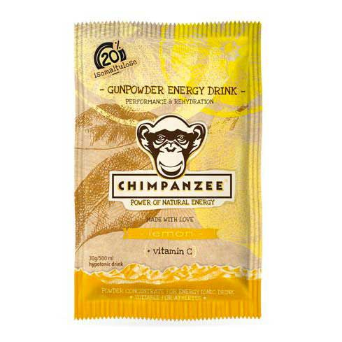 Chimpanzee Gunpowder Energy Drink Envelope Lemon 30 g