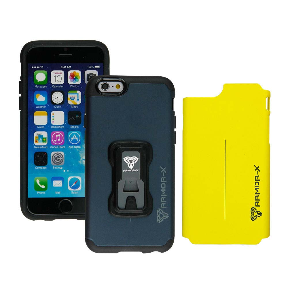 Action kameror  Armor-x-cases Rugged Case For Iphone 6/6s With X Mount