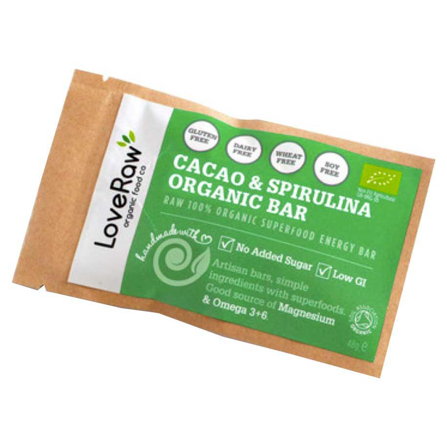 Loveraw Bar Cocoa And Spirulina 48gr