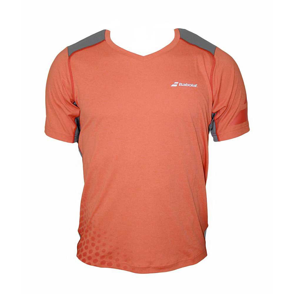 Babolat t shirt v neck performance buy and offers on smashinn for What is a performance t shirt