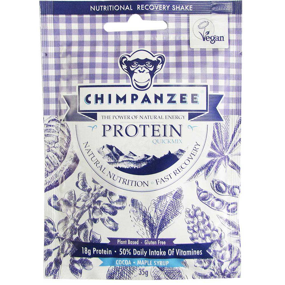 Chimpanzee Quick Mix Protein Cocoa/Maple Syrup 35gr