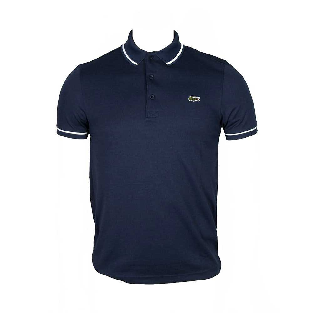 Lacoste Ultra Dry Piping Short Sleeve Polo Shirt