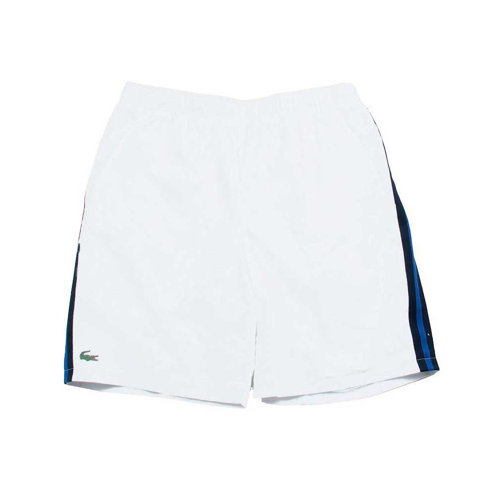 Lacoste Taffeta Tennis Shorts with Mesh Panel