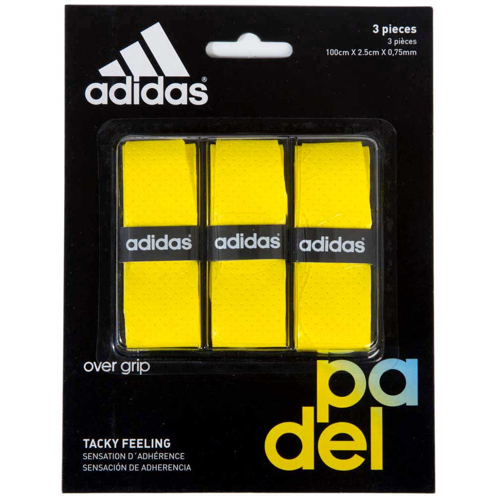 Sur-grips Adidas-padel Tacky Feeling 3 Units One Size Yellow