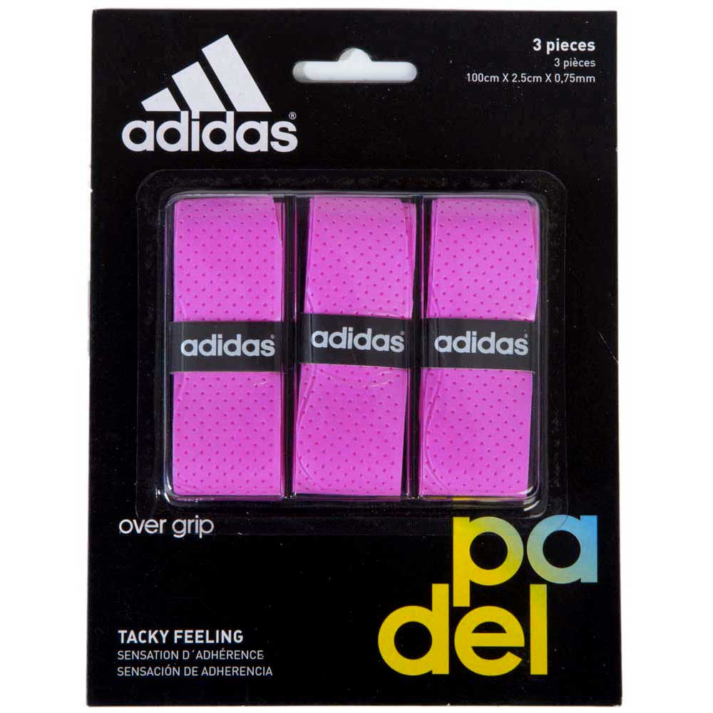 Sur-grips Adidas-padel Tacky Feeling 3 Units One Size Pink