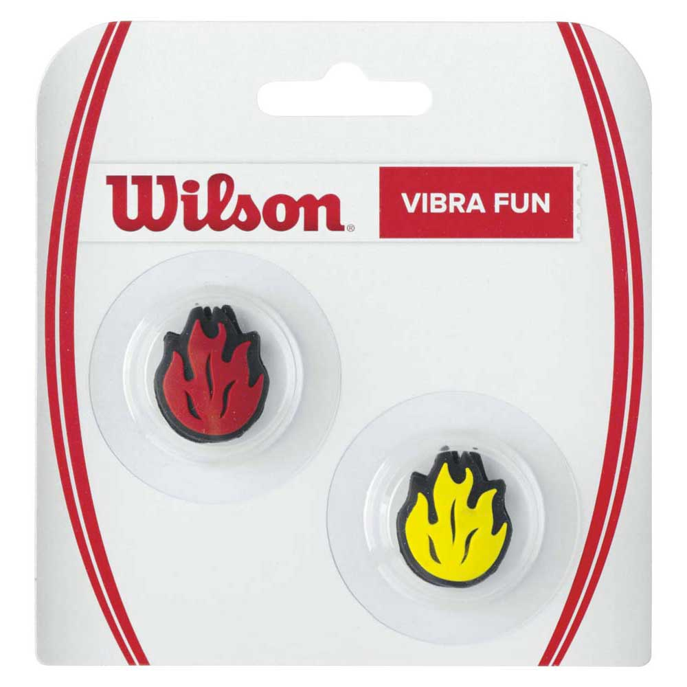 Accessoires Wilson Vibra Fun Flames 2 Units One Size Red / yellow
