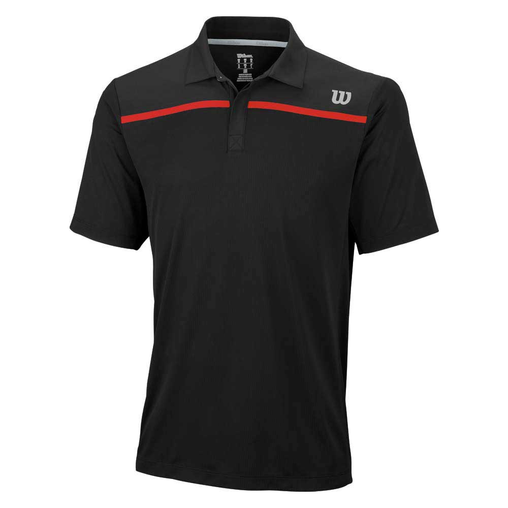 Wilson Knit Stretch Woven Polo