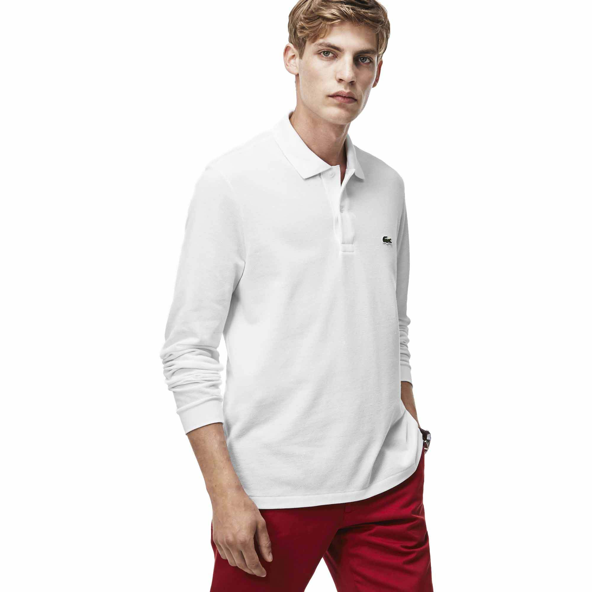 472a5bed7 Lacoste L1312 Best Polo L S White buy and offers on Smashinn