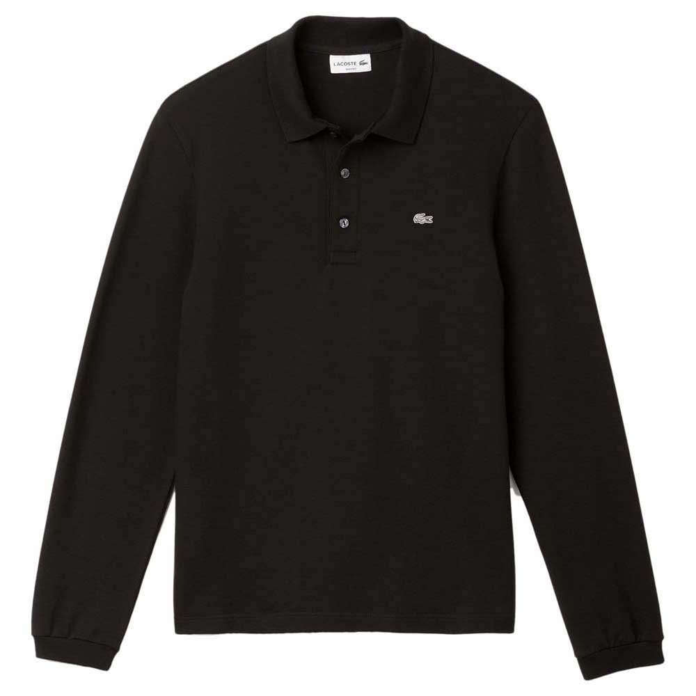 aa212af15 Lacoste PH4010031 Polo L S Black buy and offers on Smashinn