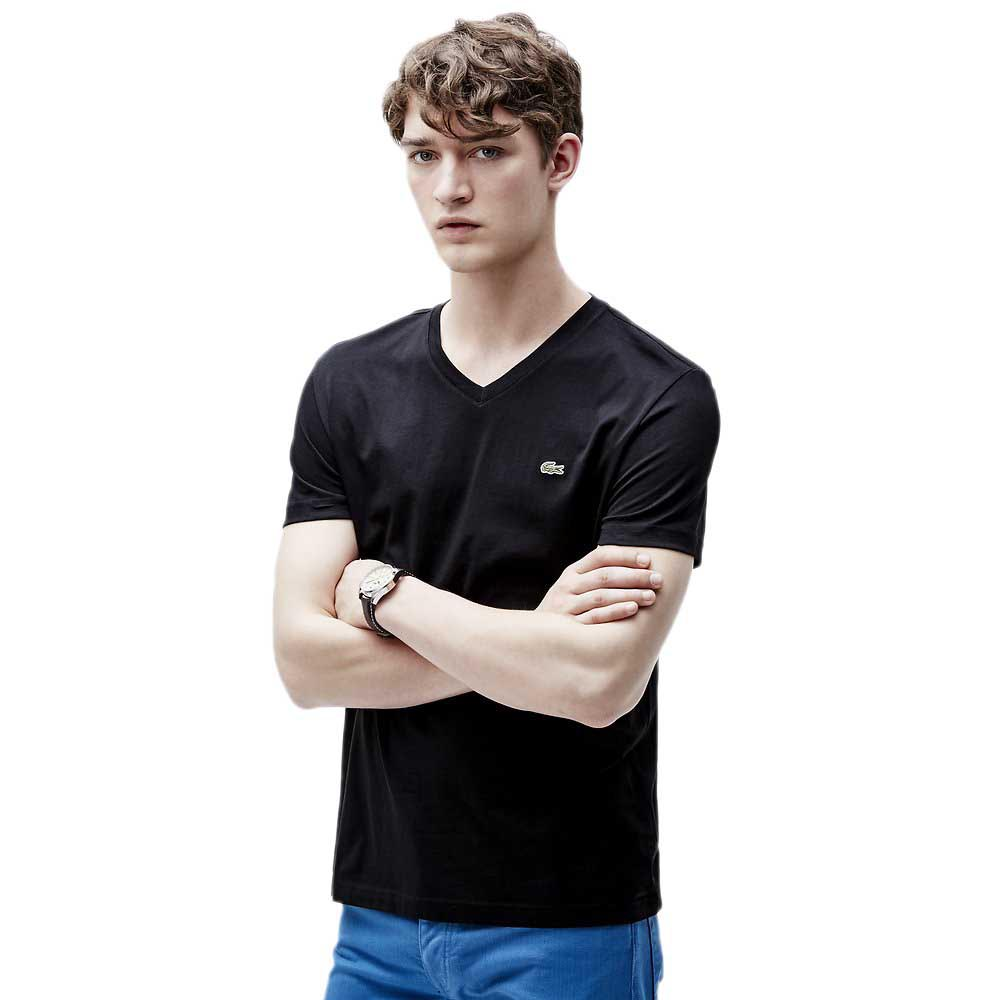 Lacoste V-neck T-Shirt in Pima Cotton