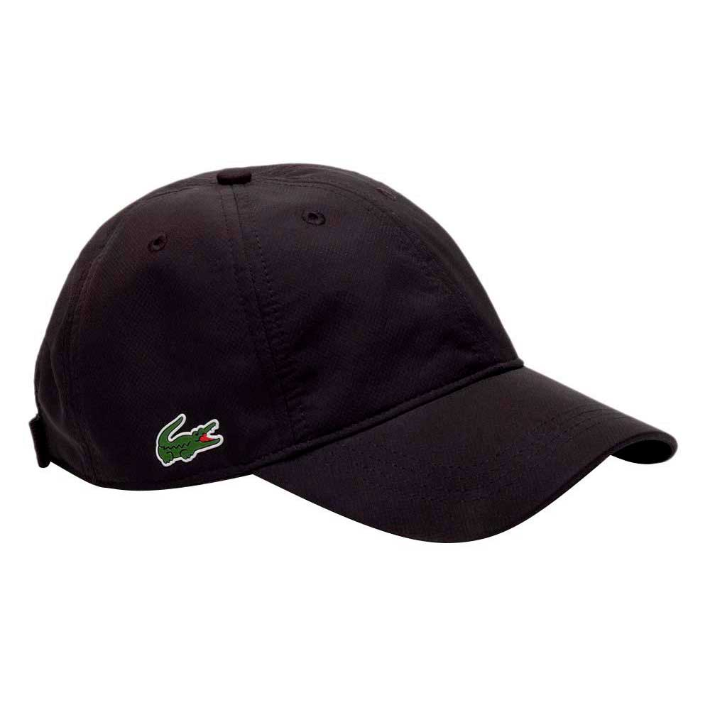 205e35f094b Lacoste Lacoste RK2447031 Cap Black buy and offers on Smashinn