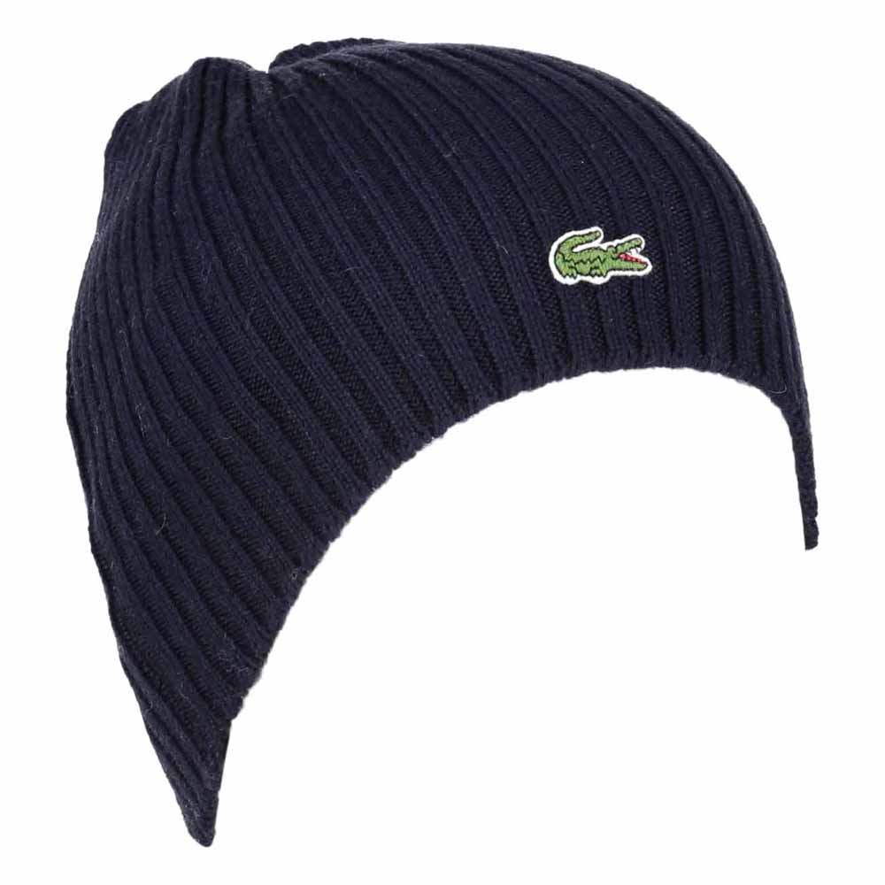 9e52757c06bc0 Lacoste Ribbed Wool Beanie buy and offers on Smashinn