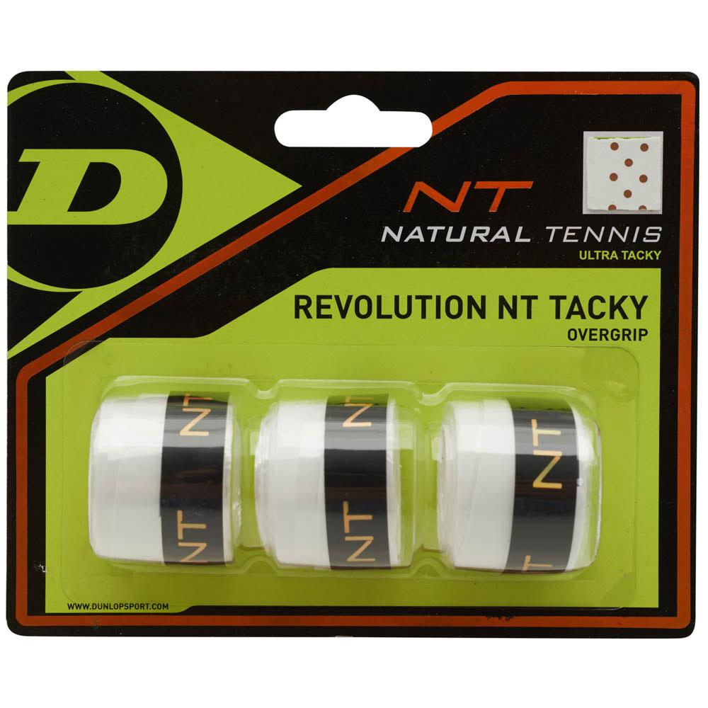 Dunlop Revolution Nt Tacky Overgrip Blanco