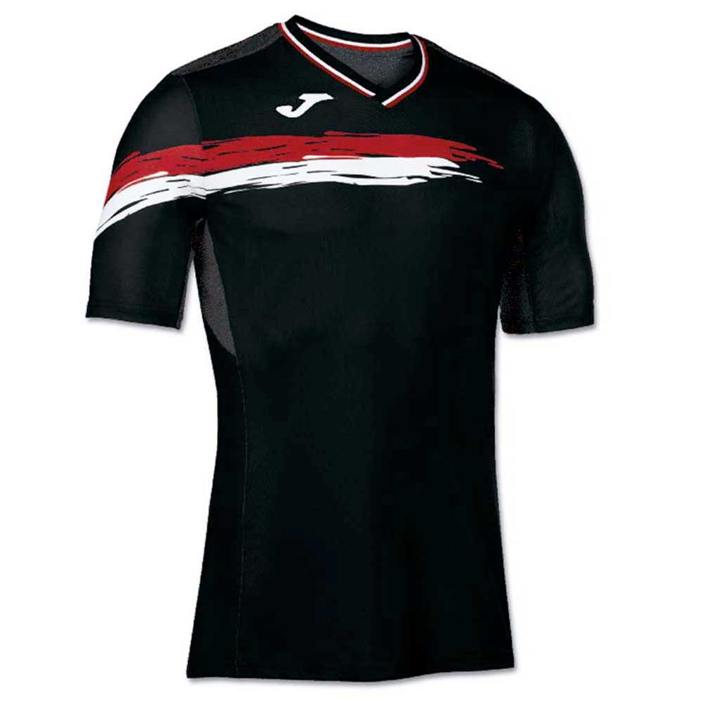 d81259443fd5b Joma Joma Picasho SS Black   Red comprar e ofertas na Smashinn