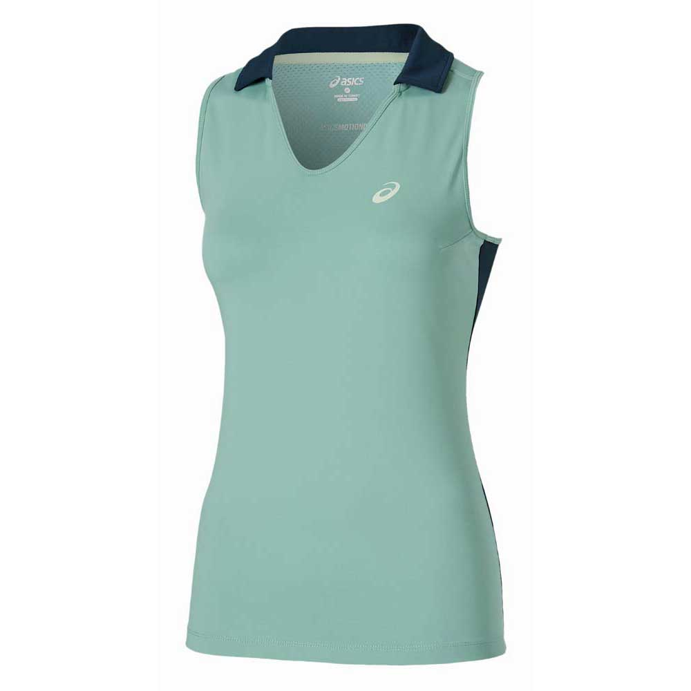 Asics Padel Sleeveless Polo