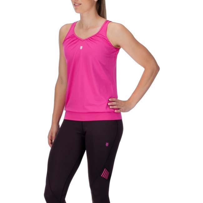 T-shirts K-swiss Sideline Top XL Berry