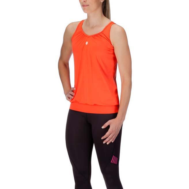 T-shirts K-swiss Sideline Top M Orange