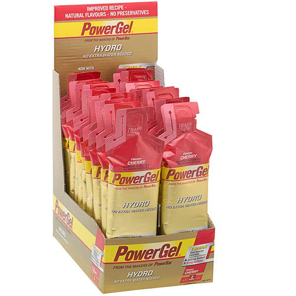 Powerbar Powergel Hydro Cherry with Caffeine Box 24 Units