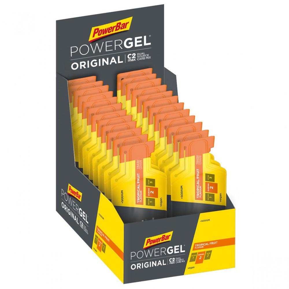 Powerbar PowerGel Original 41gr 24 Units Tropical Fruit