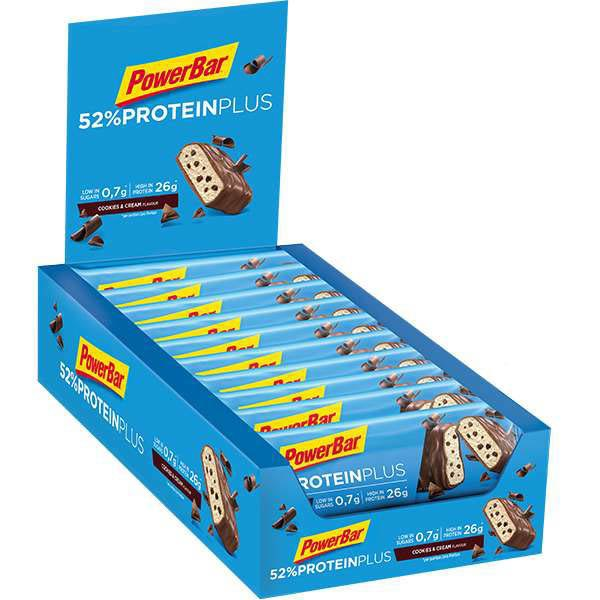 Powerbar Protein Plus 52 50gr 20 Units Cookie&Cream